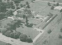 Aerial view of Powhatan Place