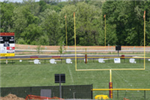 Football field in Marcus Field
